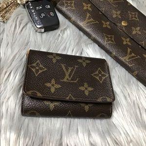 Auth Louis Vuitton Cartes Visite